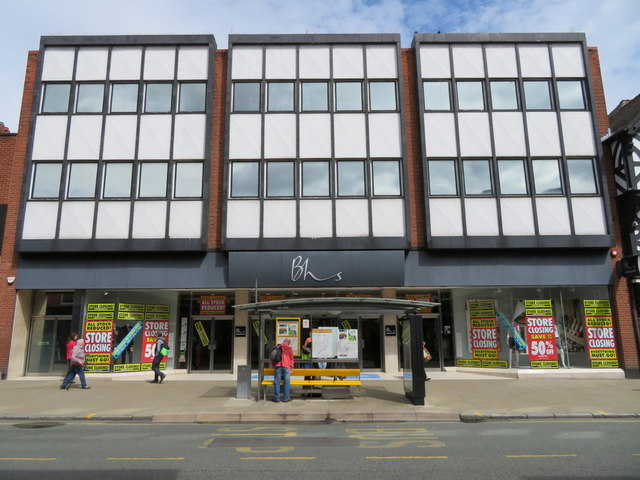 British Home Stores' one-time Chester branch. BHS' insolvency is the subject of an Insolvency Service inquiry with senior lawyers and forensic accountants.